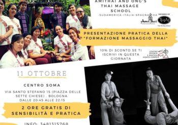 Serata GRATUITA di presentazione alla formazione professionale in Massaggio Tradizionale Thailandese